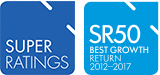 SuperRatings MySuper of the Year 2012-17